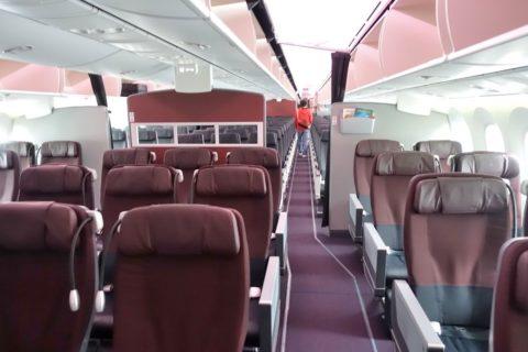 JAL国内線B787/クラスJ