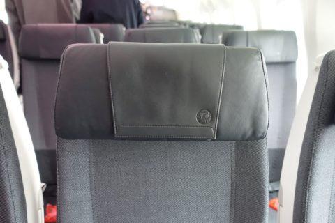 JAL国内線B787/普通席のヘッドレスト
