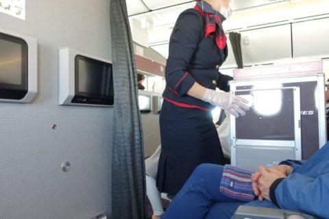 JAL機内サービスコロナ対策