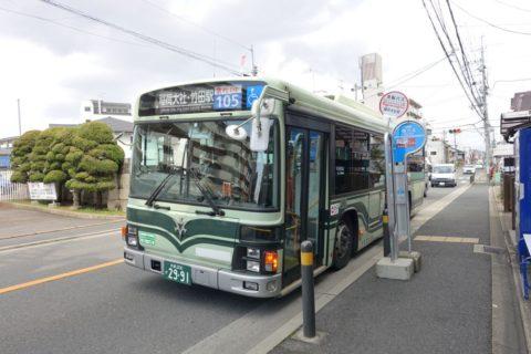 伏見稲荷大社/バスでのアクセス