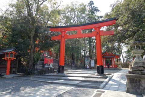 伏見稲荷大社/鳥居入口