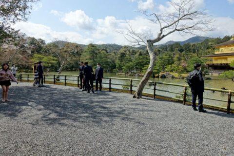 金閣寺/観光客の混雑状況