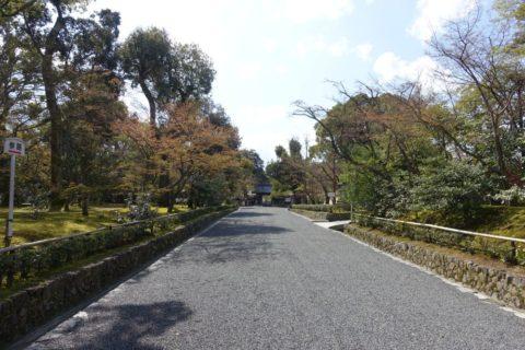 金閣寺/参道