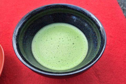 金閣寺/お抹茶