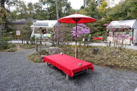 金閣寺/抹茶席の椅子
