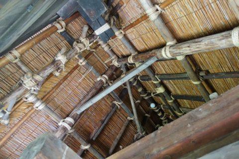 日本民族集落博物館/白川郷の屋根裏