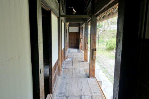 日本民族集落博物館/白川郷の廊下