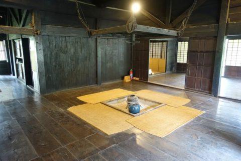 日本民族集落博物館/白川郷の内部