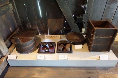 日本民族集落博物館/白川郷の食器