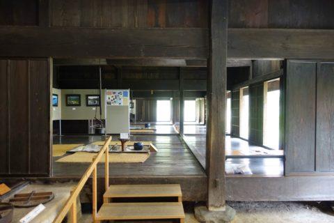 日本民族集落博物館/日向椎葉の内部
