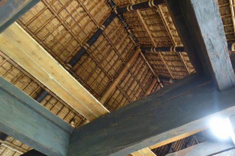 日本民族集落博物館/日向椎葉の屋根裏