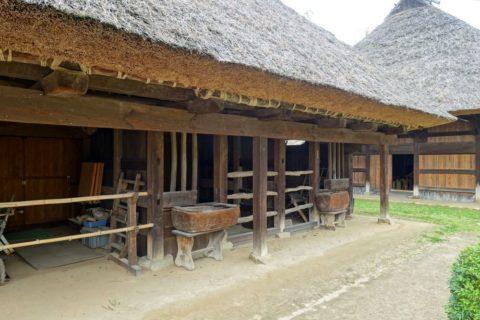 日本民族集落博物館/日向椎葉の牛舎