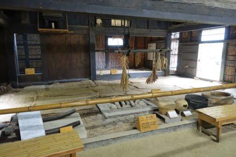 日本民族集落博物館/信州秋山の内部
