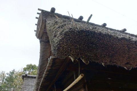 日本民族集落博物館/合掌造りの屋根