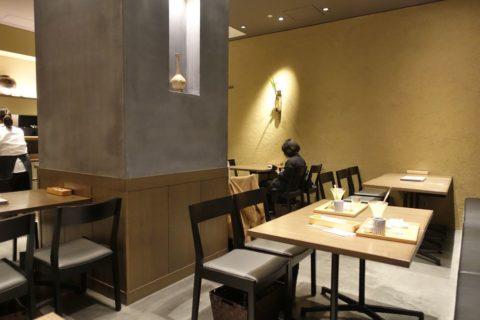 つぼ市製茶本舗/テーブル席