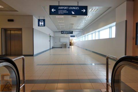 プラハ空港2つのラウンジ