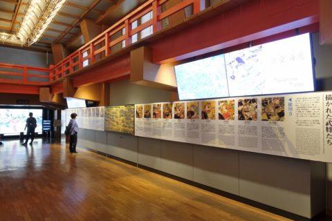 大阪城の展示