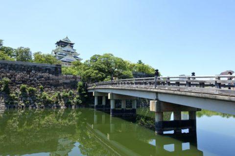 大阪城と橋