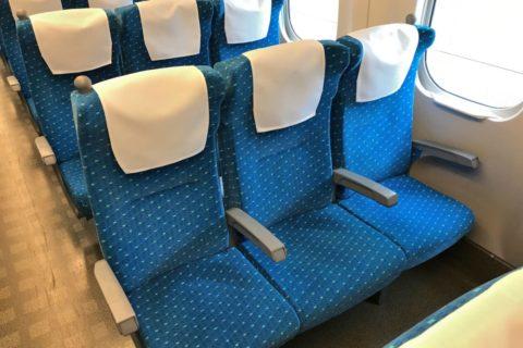 東海道新幹線/3列シート