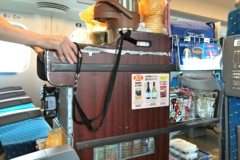 東海道新幹線/ワゴン販売