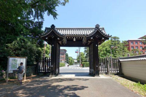 京都御所の門