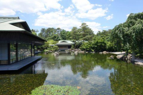京都迎賓館/池