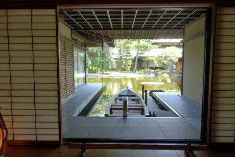 京都迎賓館/舟遊び