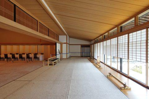 京都迎賓館/藤の間の縁側