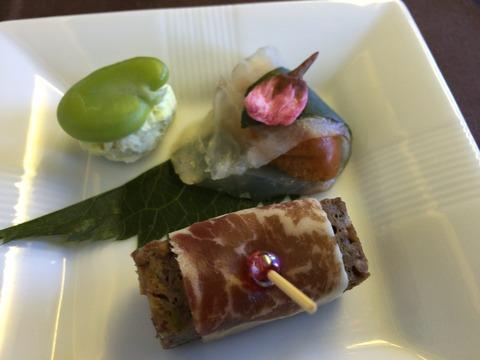 JALファーストクラス機内食 (12)