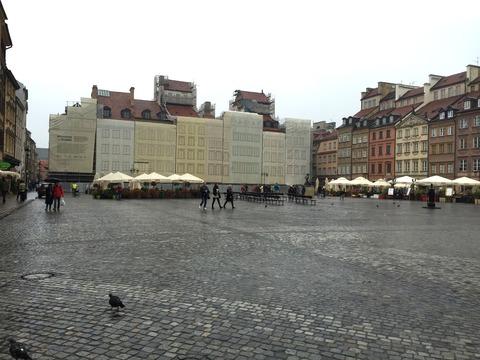 ワルシャワ旧市街