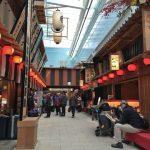 羽田空港国際線ターミナル「江戸小路」を歩く。ショップ&レストランのランチタイムの様子