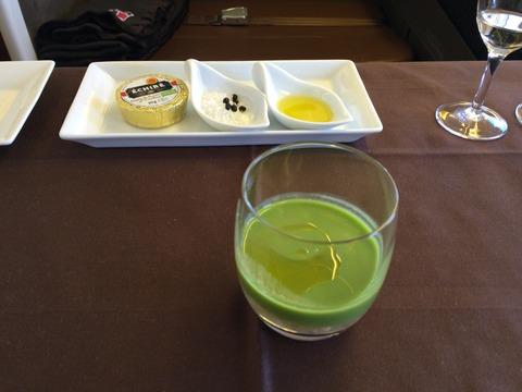 JALファーストクラス機内食 (17)