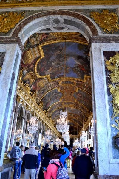 ヴェルサイユ宮殿 鏡の間 (1)