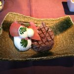 JALファーストクラス機内食/フミコの和・洋食と極上森伊蔵の味!羽田~ロンドン搭乗記‐その④
