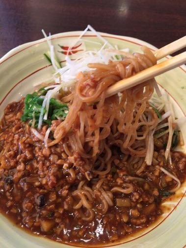 納豆汁なし味噌ラーメン (11)