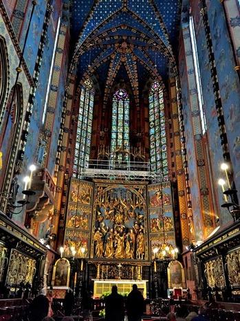 クラクフ聖マリア大聖堂 (1)