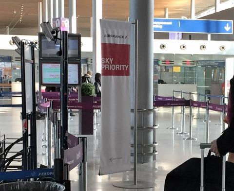 パリCDG空港 (10)
