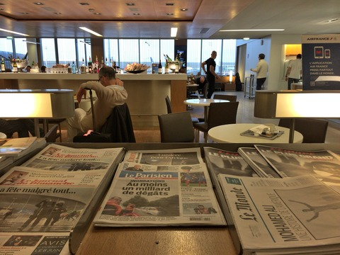 パリAir France Lounge (19)