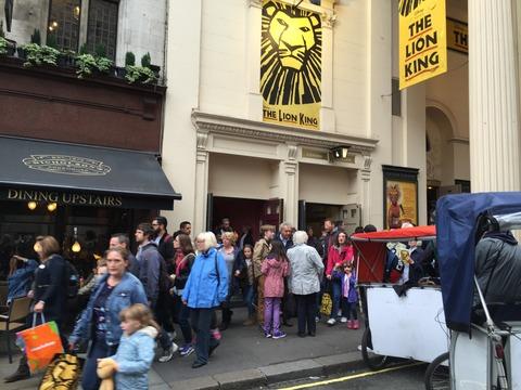ロンドンでライオンキング鑑賞 (18)
