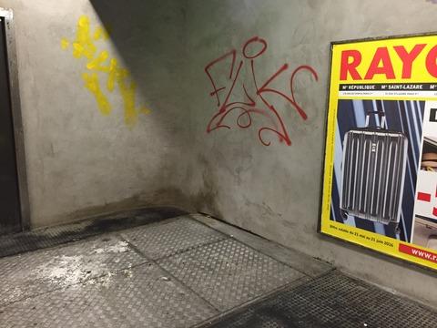 臭い・汚い・暗い パリの地下鉄 (7)