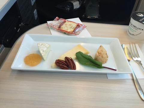 JALビジネスクラス機内食 (7)