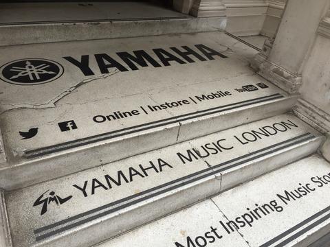 ロンドンのYAMAHA (6)
