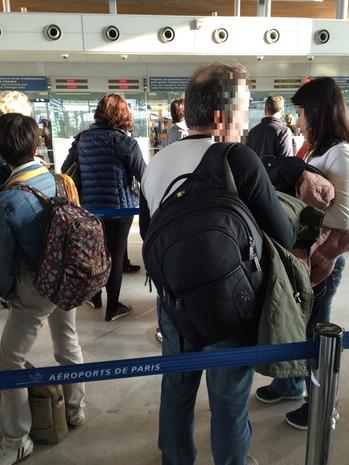 パリCDG空港 (12)