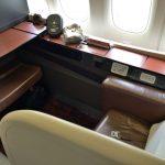 JALファーストクラス搭乗記!羽田~ロンドン‐その① JAL-Suiteシートとウェルカムドリンク