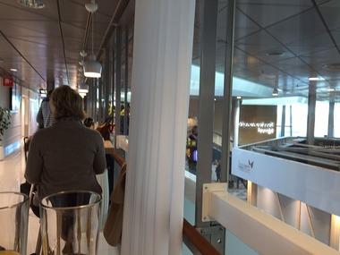 Finnair ラウンジ (3)