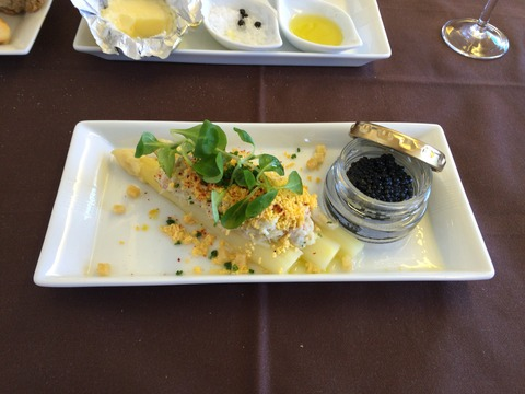 JALファーストクラス機内食 (21)