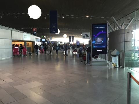 パリCDG空港 (2)