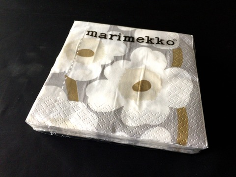 marimekkoペーパーナプキン (1)