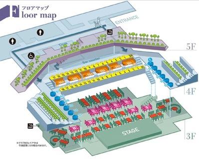 ビルボードライブ東京シートマップ2