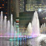 美しい噴水ショーにうっとり!夜はペトロナスツインタワー前の公園へ行こう!(マレーシア・クアラルンプール)